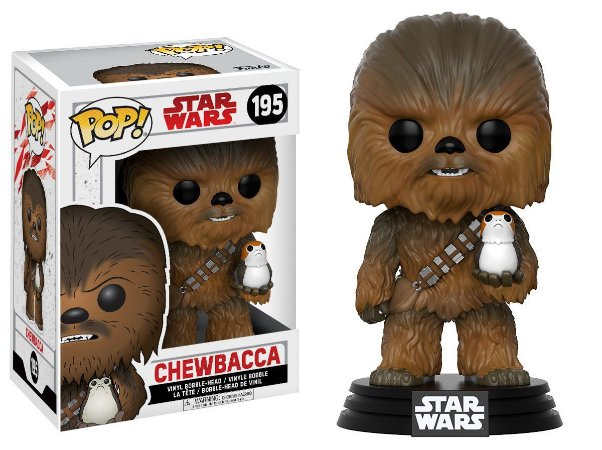 Estatueta Funko Pop! Star Wars The Last Jedi - Chewbacca