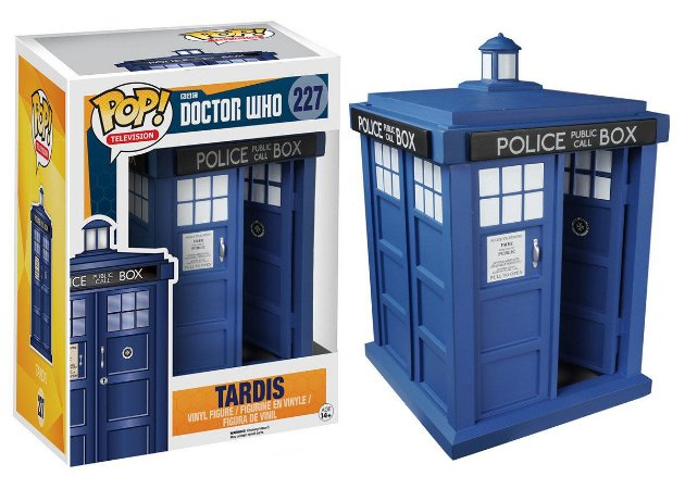 Estatueta Funko Pop! Television Doctor Who - Tardis 6""