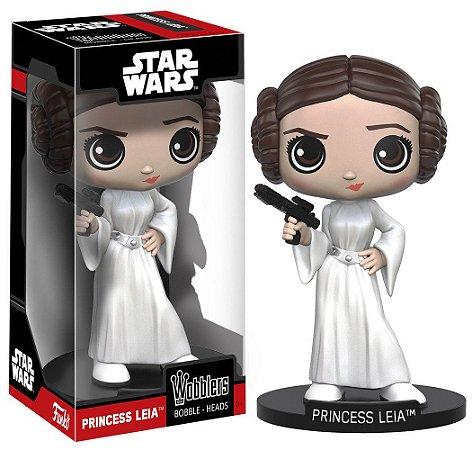 Estatueta Funko Wacky Wobbler Star Wars Classic - Leia