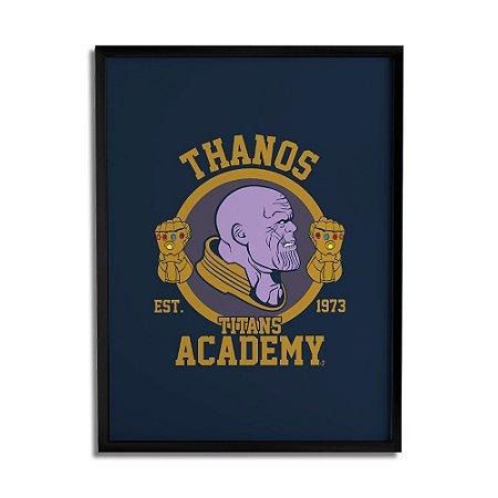 Quadro Decorativo Thanos By Cleyton Braga - Beek