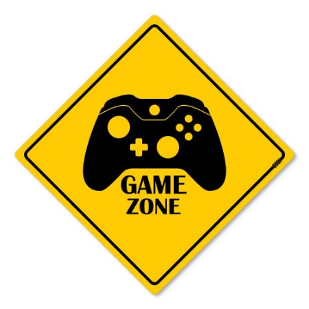 Placa Decorativa 30x30 Gaming Zone X - Beek