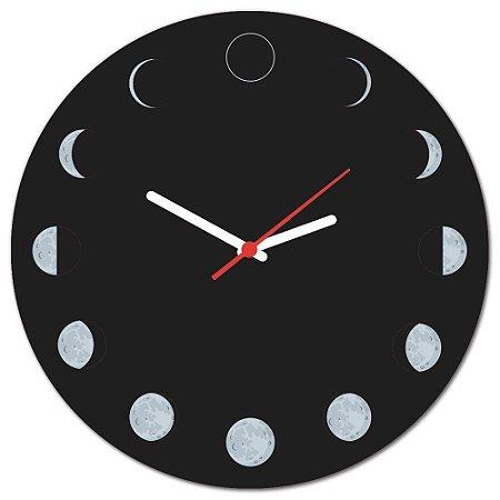 Relógio de Parede Beek FASES DA LUA