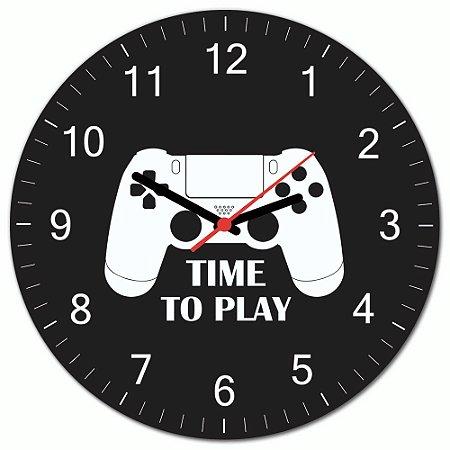 Relógio de Parede Beek Gamer PS