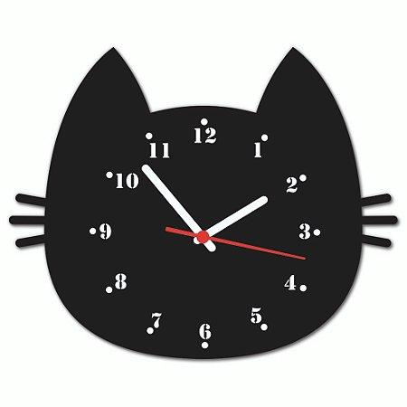 Relógio de Parede Beek GATO PRETO