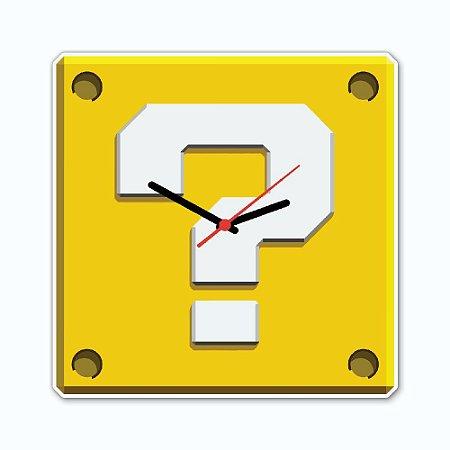 Relógio de Parede - INTERROGAÇÃO
