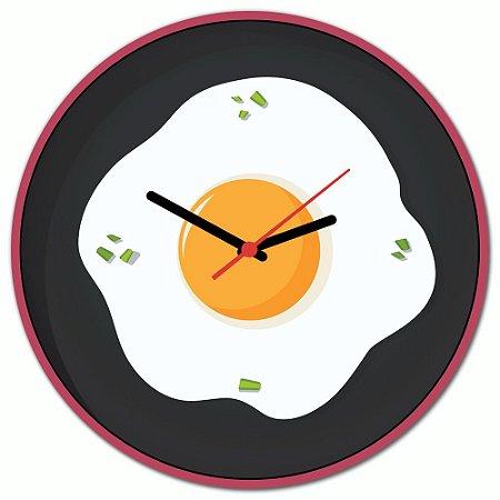 Relógio de Parede Beek OVO FRIGIDEIRA