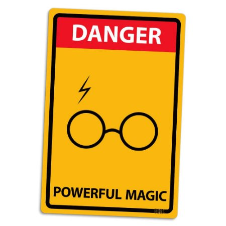 Placa Decorativa 24x16 POWERFUL MAGIC - Beek
