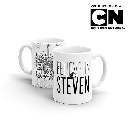 Caneca Cartoon Network OFF Believe in Steven