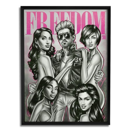 Quadro Decorativo George Michael By Renato Cunha - Beek