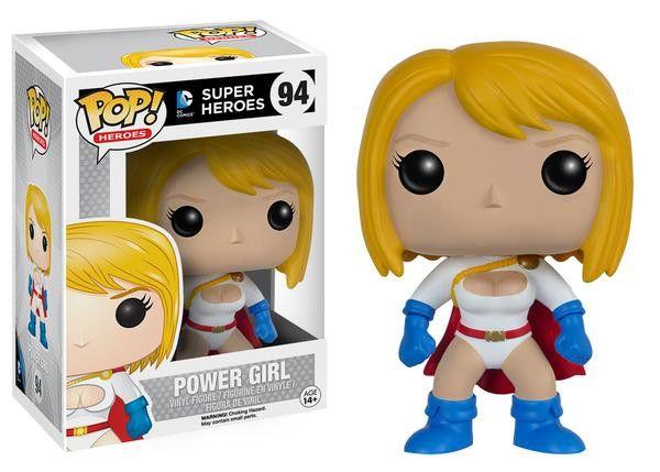 Estatueta Funko Pop! Super Heroes - Power Girl