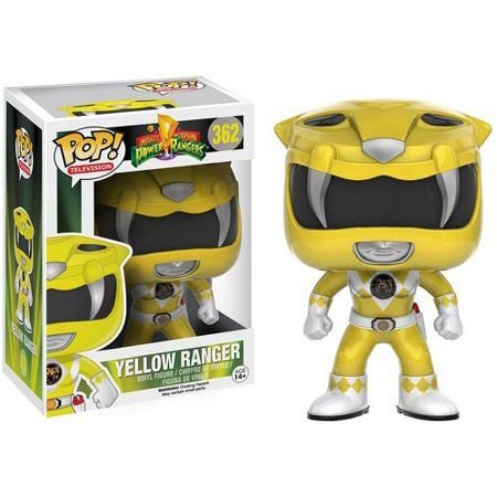 Estatueta Funko Pop! Power Rangers - Yellow Ranger