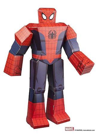 """Figura De Dobrar BluePrints Marvel Homem Aranha 12"""""""