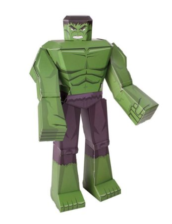 Figura De Dobrar BluePrints Marvel Hulk 30cm