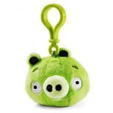 Chaveiro de Pelúcia PIG Angry Birds