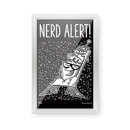 Quadro Decorativo Cartoon Network DEXTER NERD ALERT - Beek