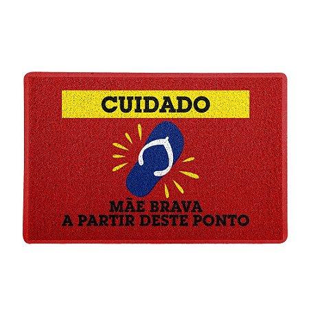 Capacho 60x40cm - MÃE BRAVA
