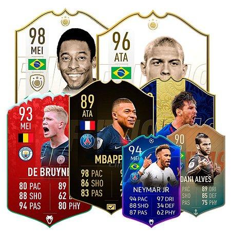Fifa Cards Decorativas em 3 Tamanhos