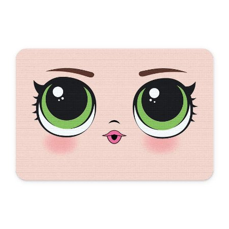 Tapete 60x40 Olhos Verdes - Beek