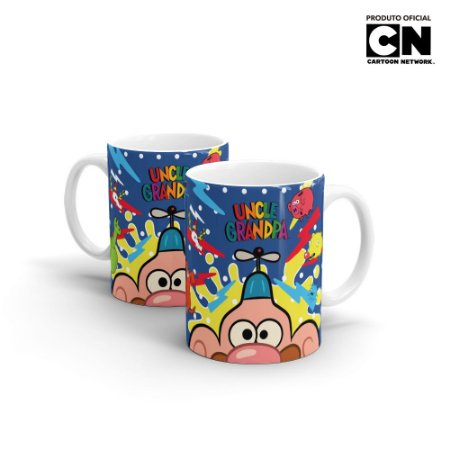 Caneca Cartoon Network Titio Avô - Beek