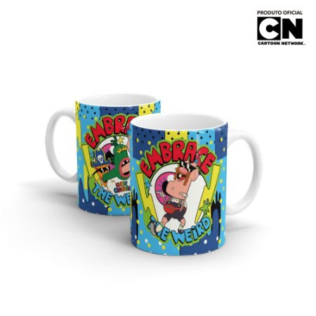 Caneca Cartoon Network TITIO AVÔ The Weird - Beek