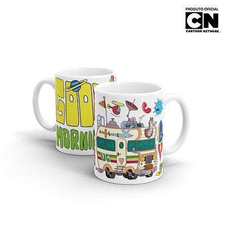 Caneca Cartoon Network TITIO AVÔ Good Morning - Beek