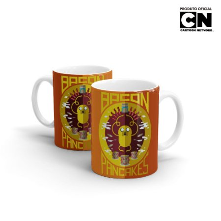 Caneca Cartoon Network HORA DE AVENTURA - Bacon Pancakes