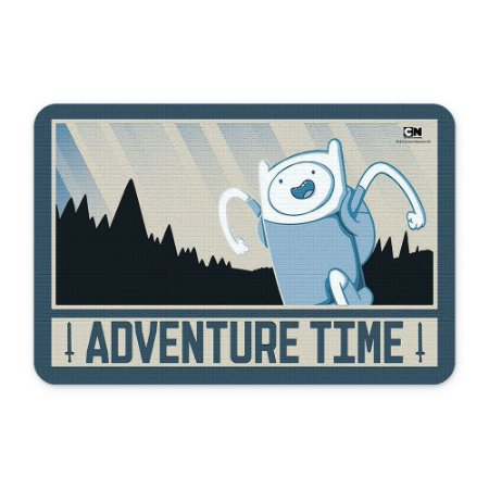 Tapete 60x40 Cartoon Network HORA DE AVENTURA Glory and Blood Finn