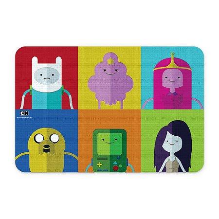 Tapete 60x40 Cartoon Network HORA DE AVENTURA Personagens