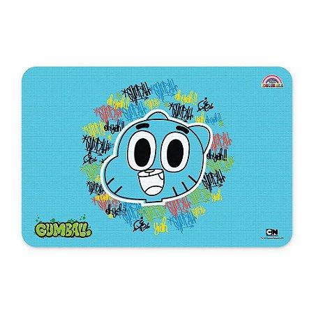 Tapete 60x40 Cartoon Network O incrível mundo de Gumball - Grafite