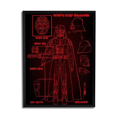 Quadro Decorativo Darth Vader 2 By Keyzo Araujo - Beek