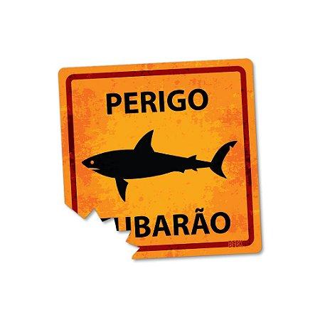 Placa Decorativa 20x20 - TUBARÃO
