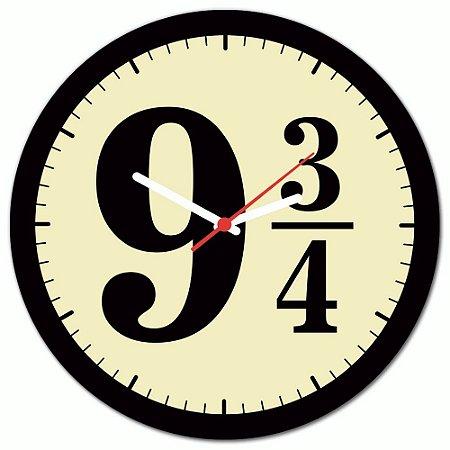 Relógio de Parede Beek 9 3/4 - PRETO