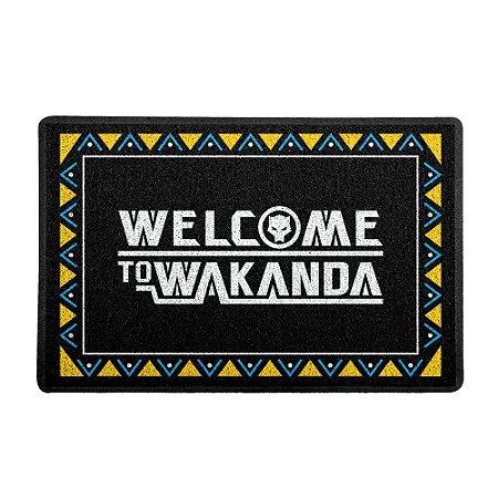 Capacho 60x40cm Welcome to Wakanda - Beek
