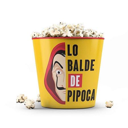 Balde de Pipoca 3,5 litros LO BALDE 2 - Vermelho - Beek