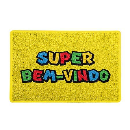 Capacho 60x40cm - SUPER BEM-VINDO