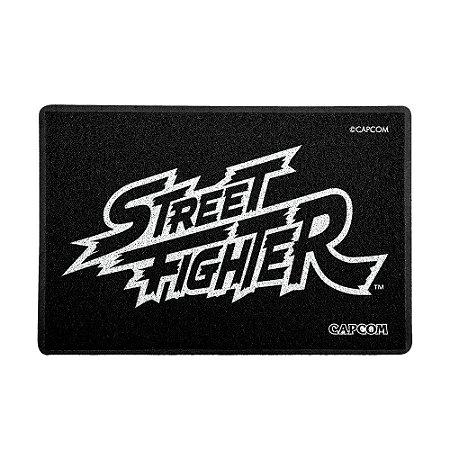 Capacho 60x40cm Street Fighter - LOGO