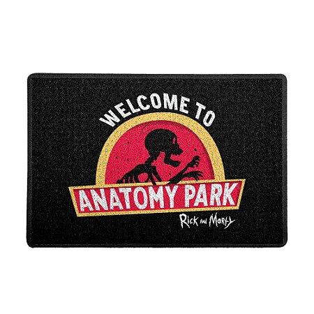 Capacho 60x40cm Rick and Morty - Anatomy Park