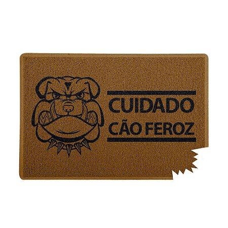 Capacho 60x40cm - CÃO FEROZ