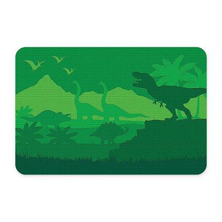 Tapete 60x40 Dinossauros Verde - Beek