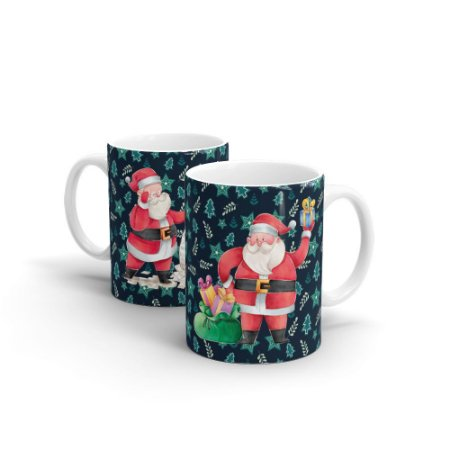 Caneca Cerâmica Papai Noel - Beek
