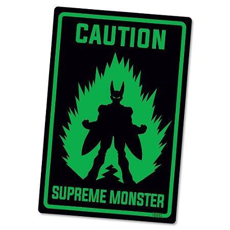 Placa Decorativa 24x16 Supreme Monster - Beek