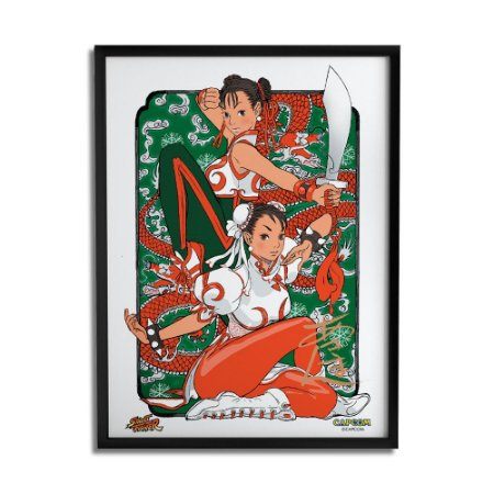 Quadro Decorativo Street Fighter Chun-Li Classic - Beek