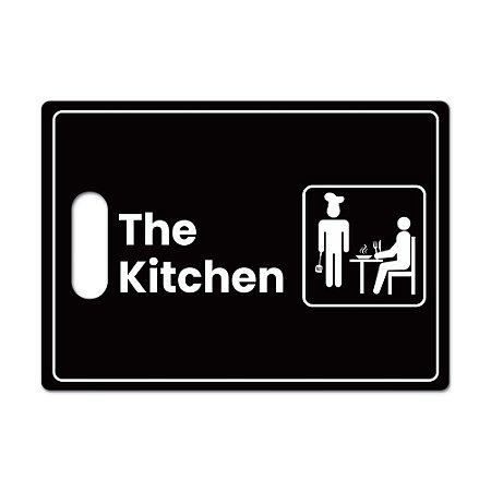 Tábua de Carne de Vidro 35x25 - THE KITCHEN