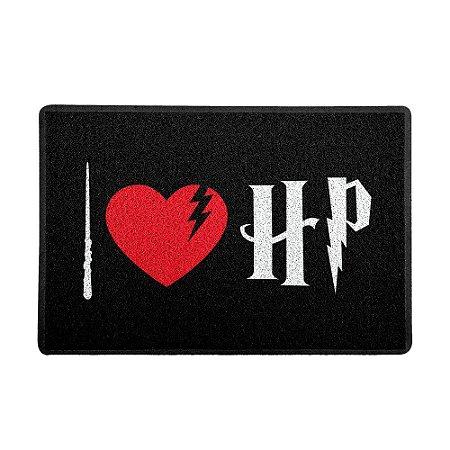 Capacho 60x40cm I LOVE HP - Beek