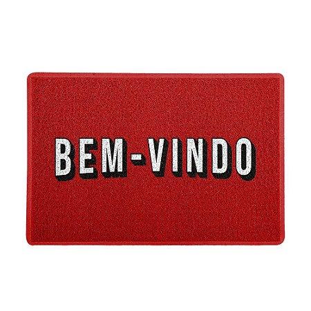 Capacho 60x40cm - NET BEM-VINDO