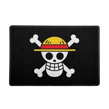 Capacho 60x40cm One Piece Piratas - Beek