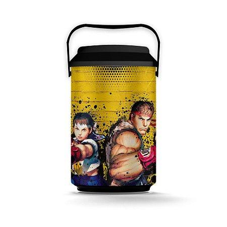 Cooler 10 Latas STREET FIGHTER Ryu e Sakura - Beek