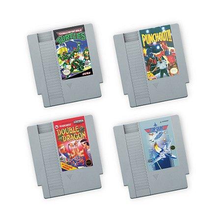 Porta Copos de acrílico - FITAS NES KIT 02