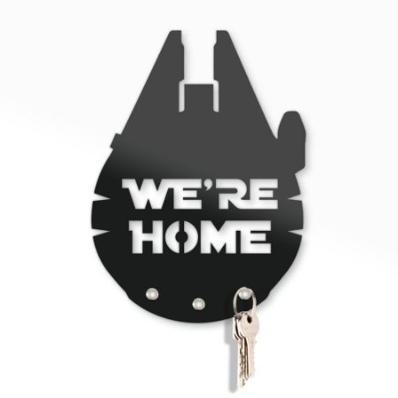 Porta Chaves 20x13 - WE'RE HOME