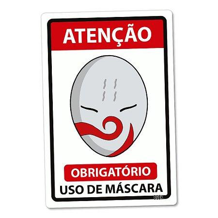 Placa Decorativa 24x16 Use Máscara - HAKU